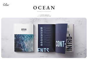 OCEAN Lookbook & Magazine Template