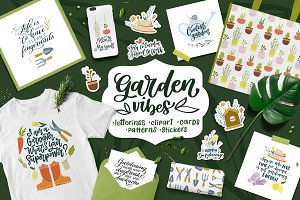 Garden Vibes Graphics Set