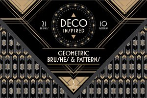 Deco Brushes & Patterns - Vol. 3
