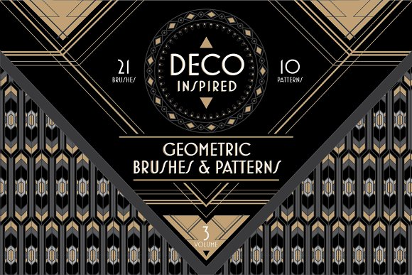 Deco Brushes & Patterns - Vol. 3 - Patterns
