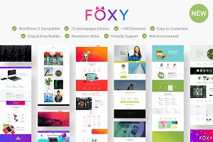 Foxy - Creative WordPress Theme