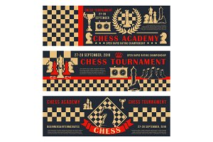 Chess academy game open tournament