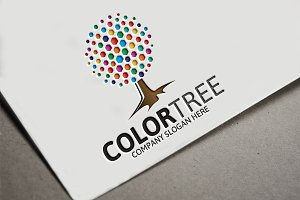 Color Tree Logo