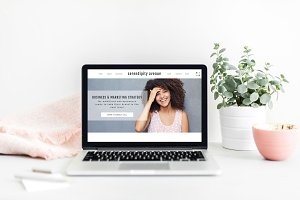 Showit Template: Serendipity