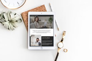 Showit Template: Heather Thomas