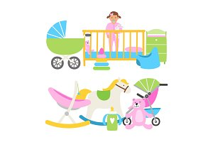 Cute babies equipment for life