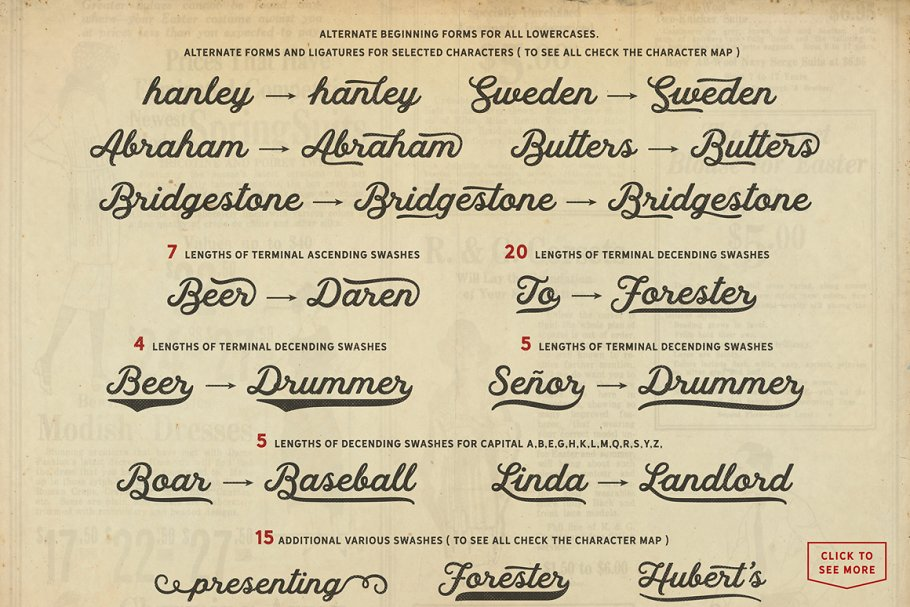 Hanley Font Collection