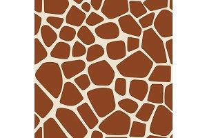 Animal pattern giraffe seamless