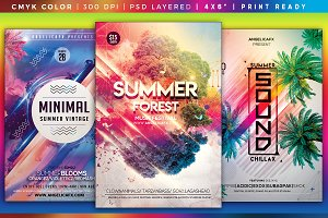 Colorful Flyers Bundle Vol. 12