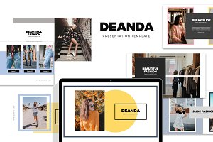 Deanda : Fashion Style Powerpoint
