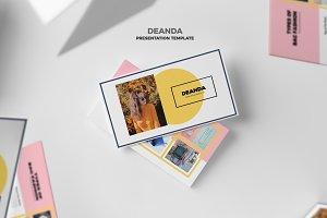 Deanda : Fashion Style Google Slides