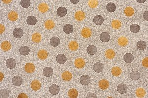 Silver & gold dots wrapping paper