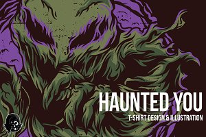 Haunted You Illustration