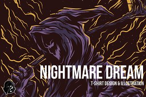 Nightmare Dream Illustration