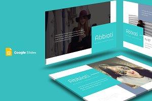 Abbiati - Google Slides Template