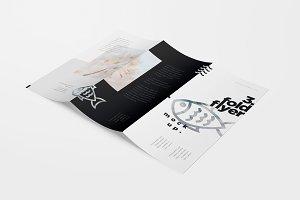 TriFold Flyer Mockups