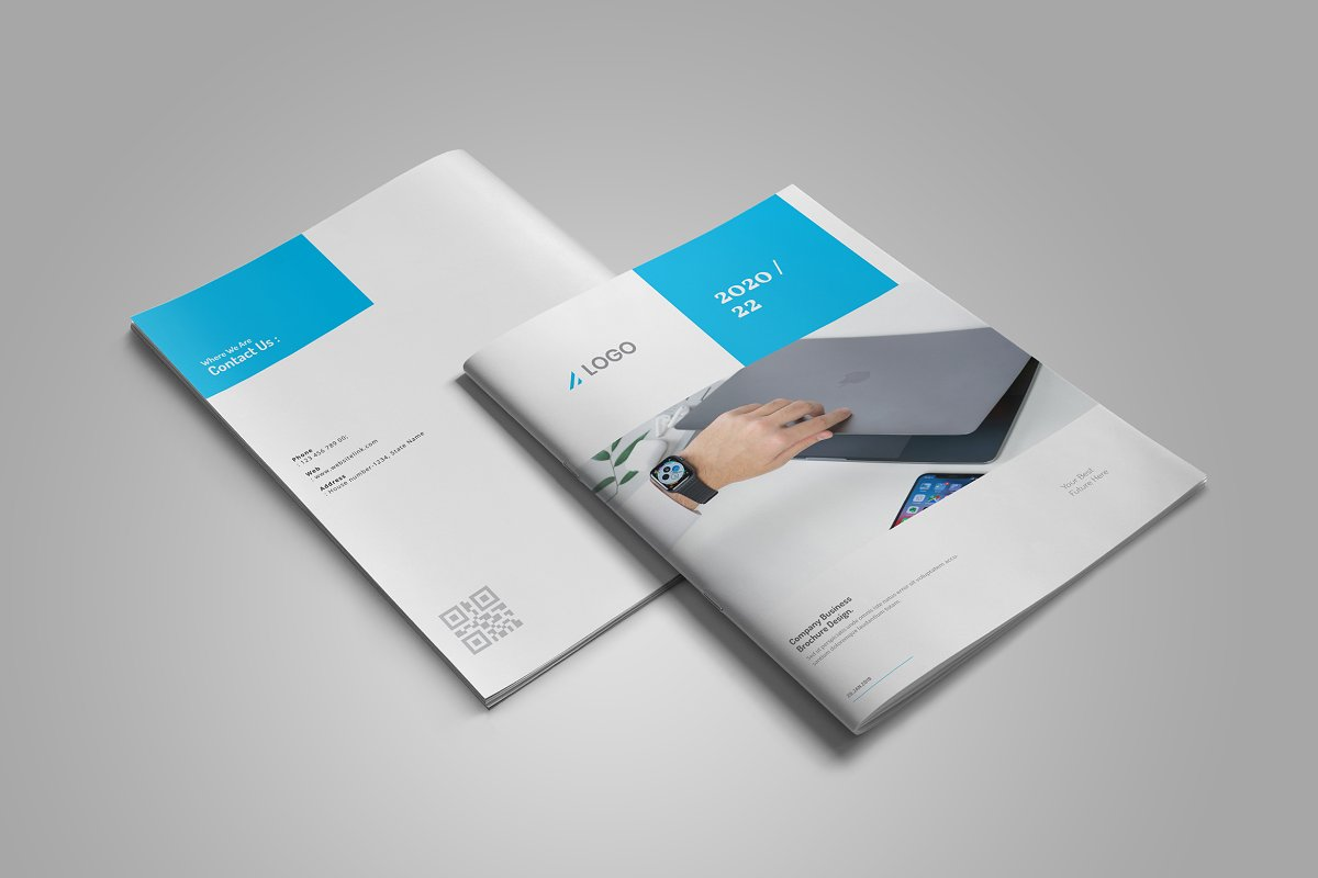 Business Brochure Design: 16 Pages