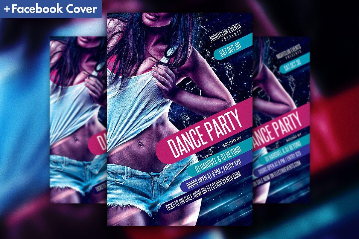 Night Club Dance Party Flyer