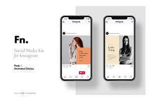 FN - Social Media Kit for Instagram