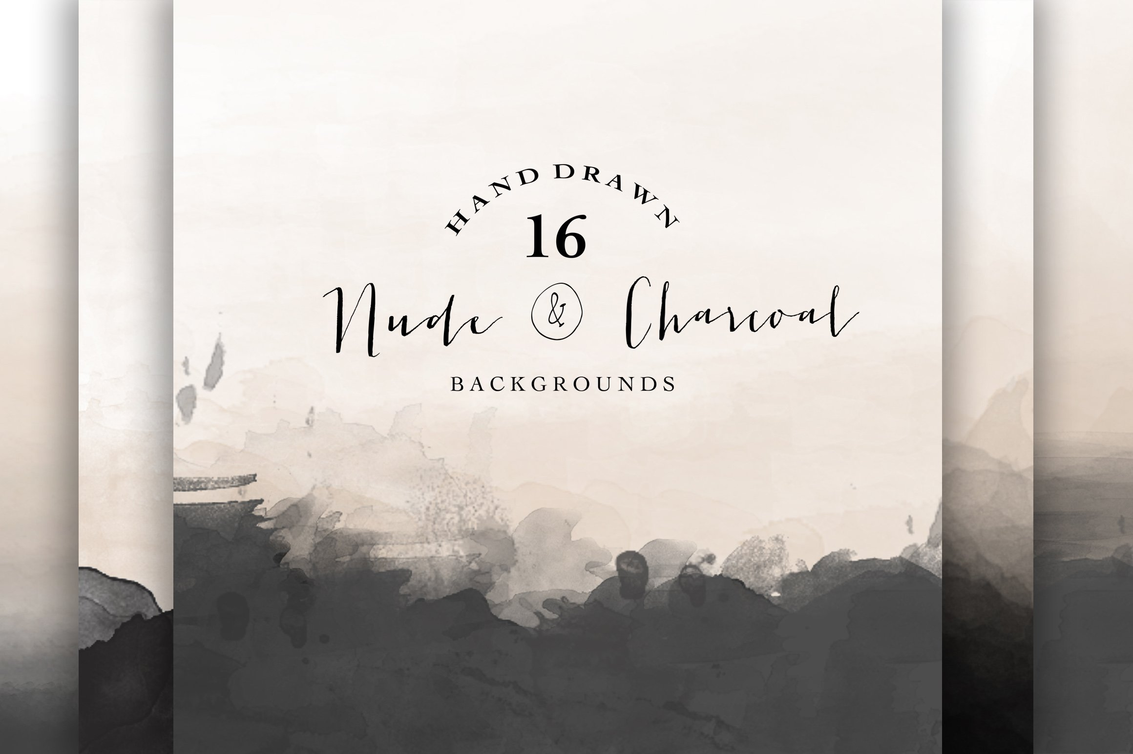 Nude And Charcoal Backgrounds Textures Creative Market