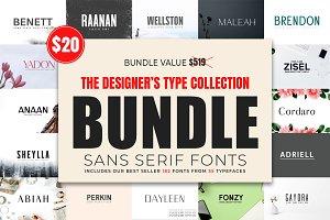 Designer's Type - Sans Serif Bundle!