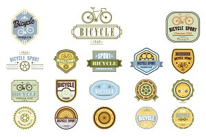 Bicycle Label Design