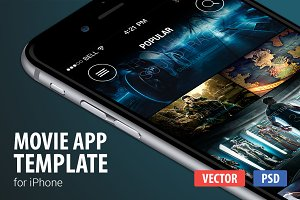 Movie App template