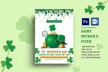 St. Patrick's Day Flyer - V966