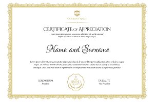 Certificate320