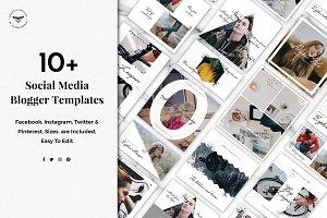 Social Media Blogger Templates