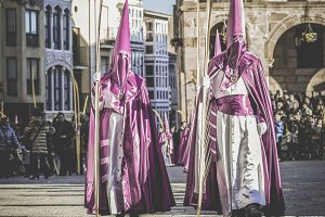Procession Holy Week in Zamora.Spain