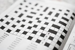 crossword ready to solve.