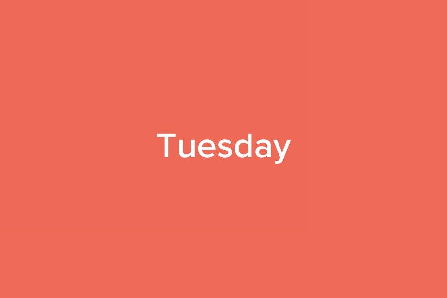 Tuesday Tumblr Theme Tumblr Themes Creative Market