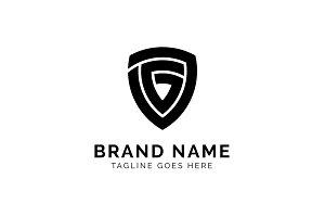 Initial G + Shield Logo