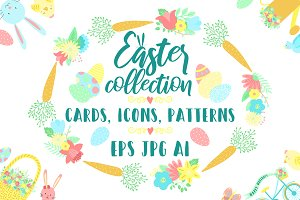 Hand-drawn Easter Collection