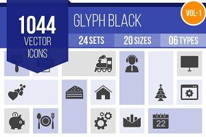 1000+ Glyph Icons (V1)