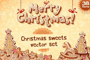 38 sweet Christmas cards templates