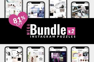 81% OFF| BUNDLE v.2-Instagram Puzzle