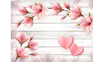 Valentine's Day holiday background