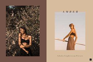 Lightroom Desktop Preset | AMBER