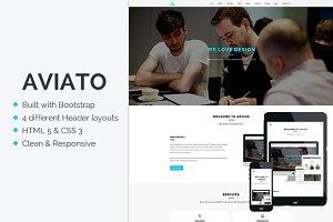 Aviato - Onepage HTML Template