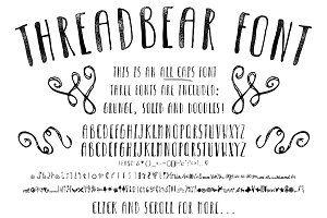 Threadbear Font