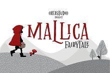 MALLICA Fairytale by  in Display Fonts