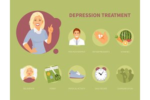 Depression treatment vector