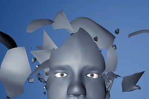 3d rendering illustration of mental