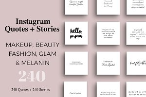 Makeup & Beauty Instagram Pack