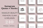 Makeup & Beauty Instagram Pack