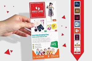 Rack Card   Kids Fashion DL Flyer v3