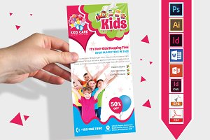 Rack Card   Kids Fashion DL Flyer v2