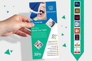 Rack Card   Dental DL Flyer Vol-03